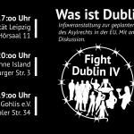 [Leipzig] Infoevent-Reihe: Dublin IV (im politischen Kontext)