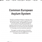 Update: The Common European Asylum System